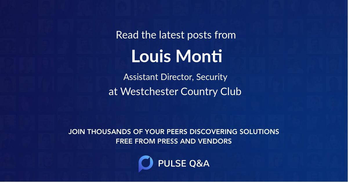 Louis Monti