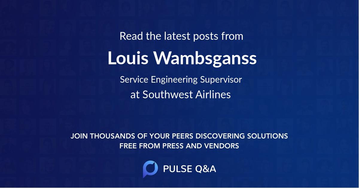 Louis Wambsganss