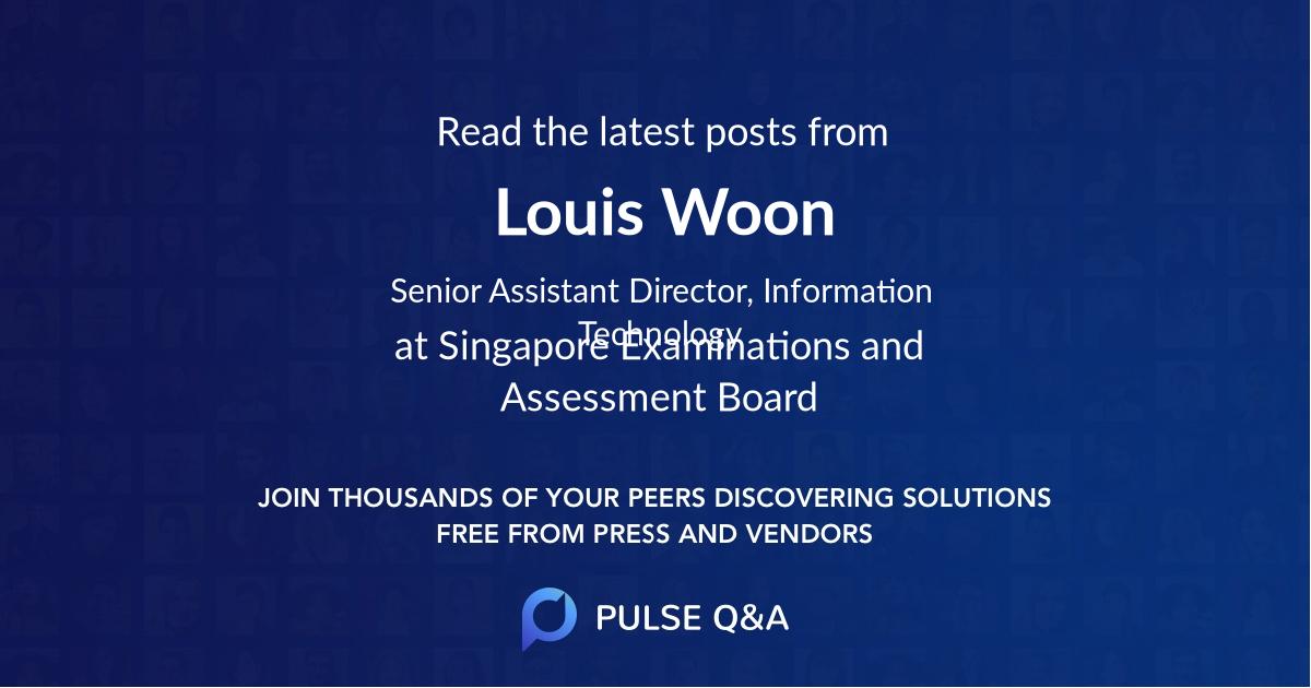 Louis Woon