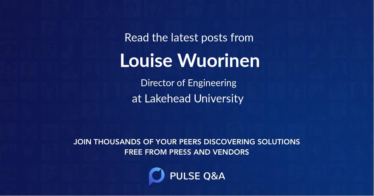 Louise Wuorinen