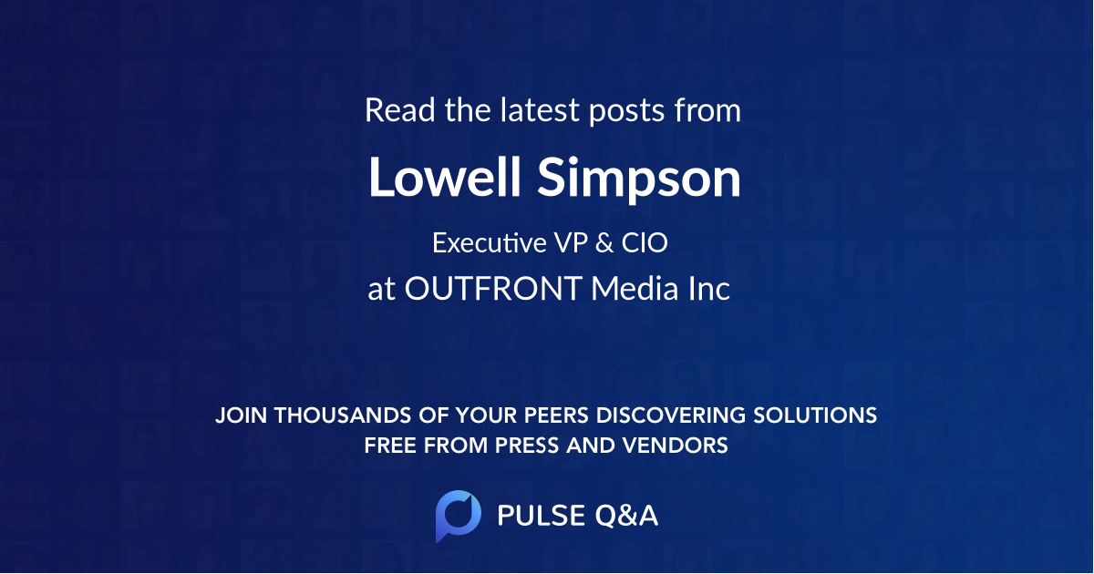 Lowell Simpson