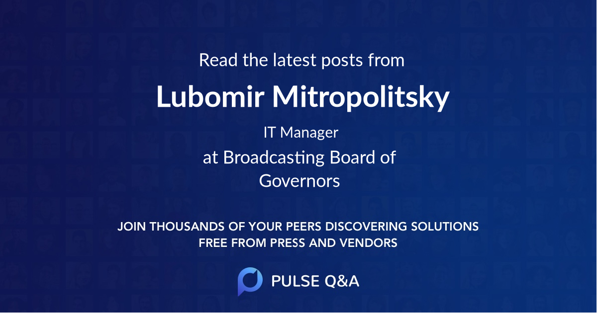 Lubomir Mitropolitsky