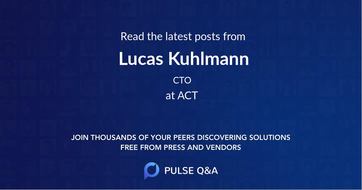 Lucas Kuhlmann