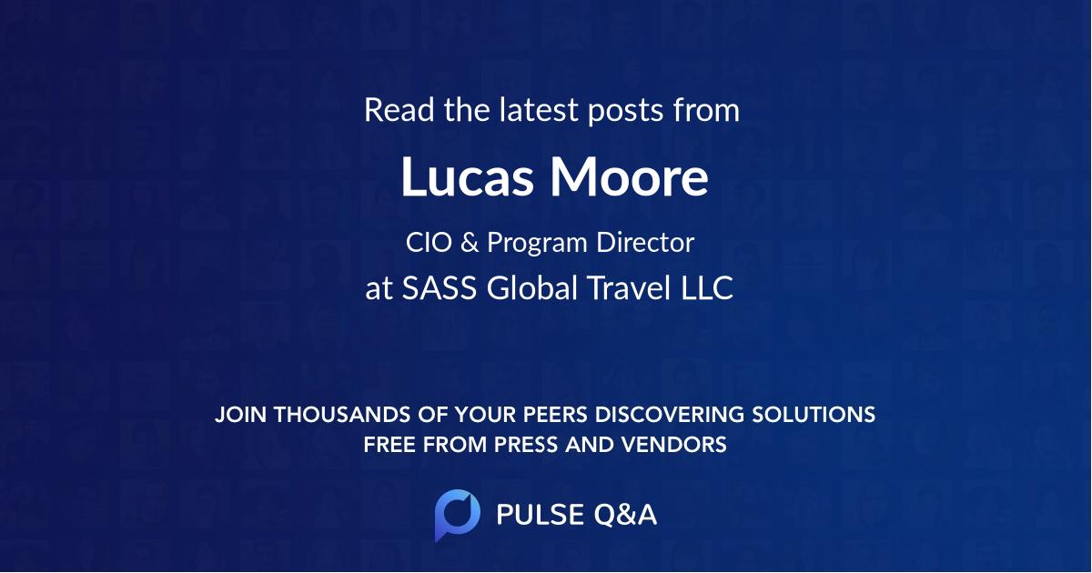 Lucas Moore