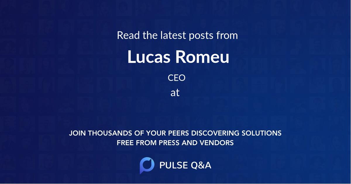 Lucas Romeu
