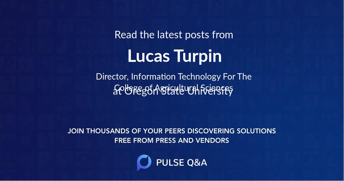Lucas Turpin