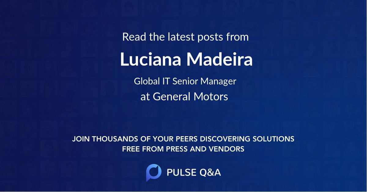 Luciana Madeira