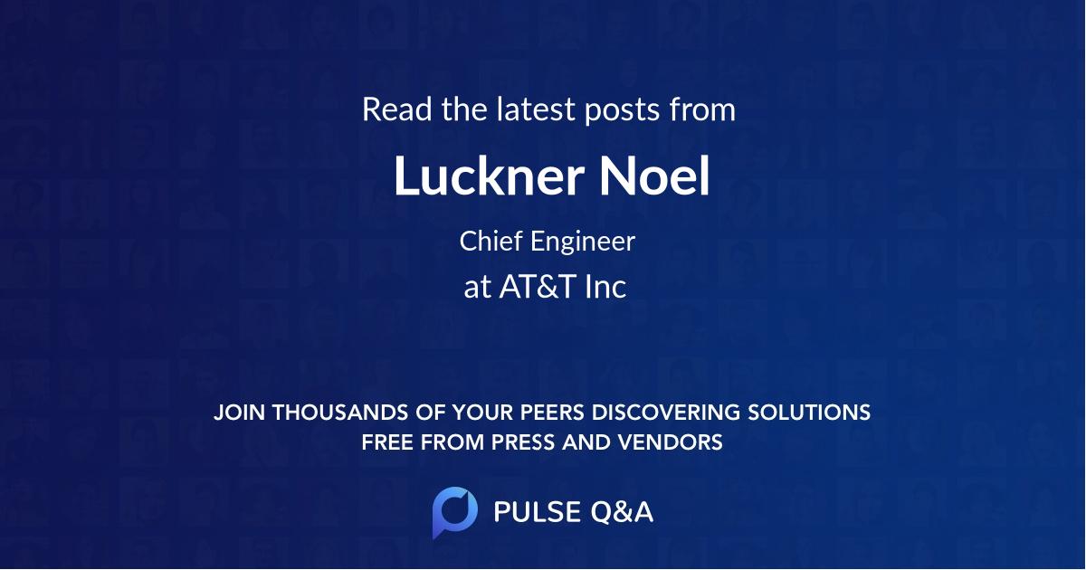 Luckner Noel