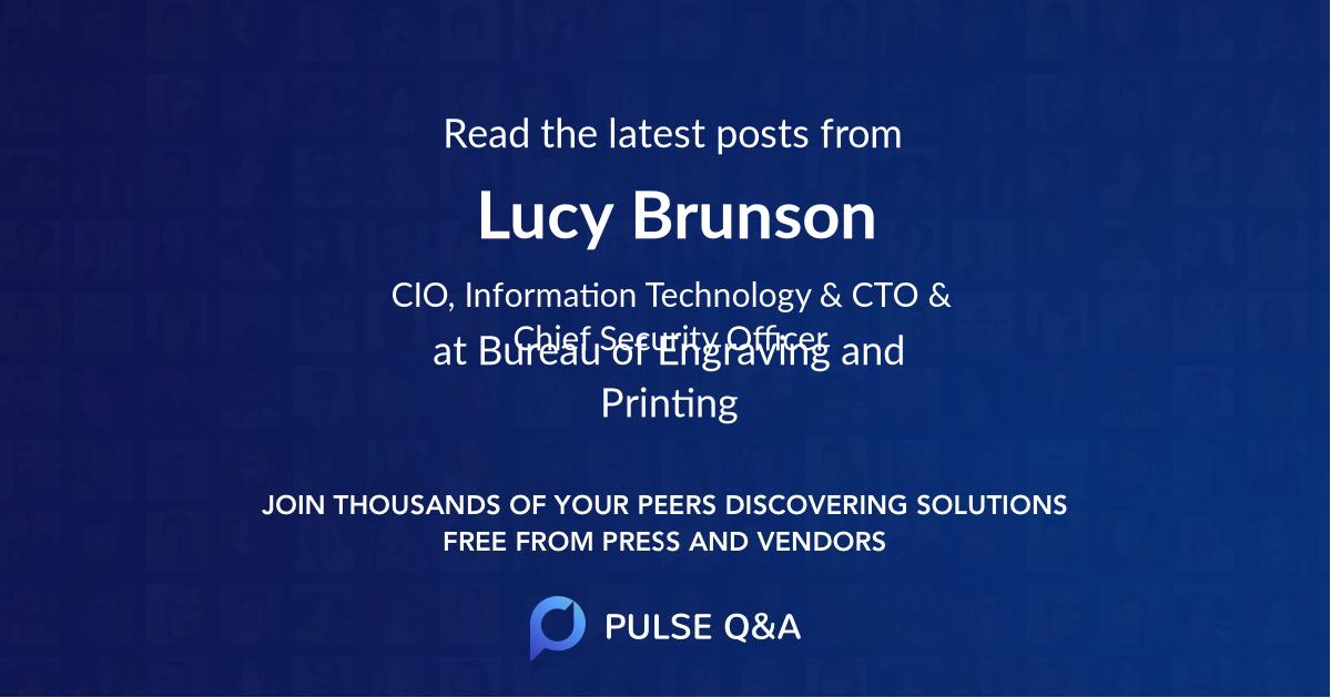 Lucy Brunson