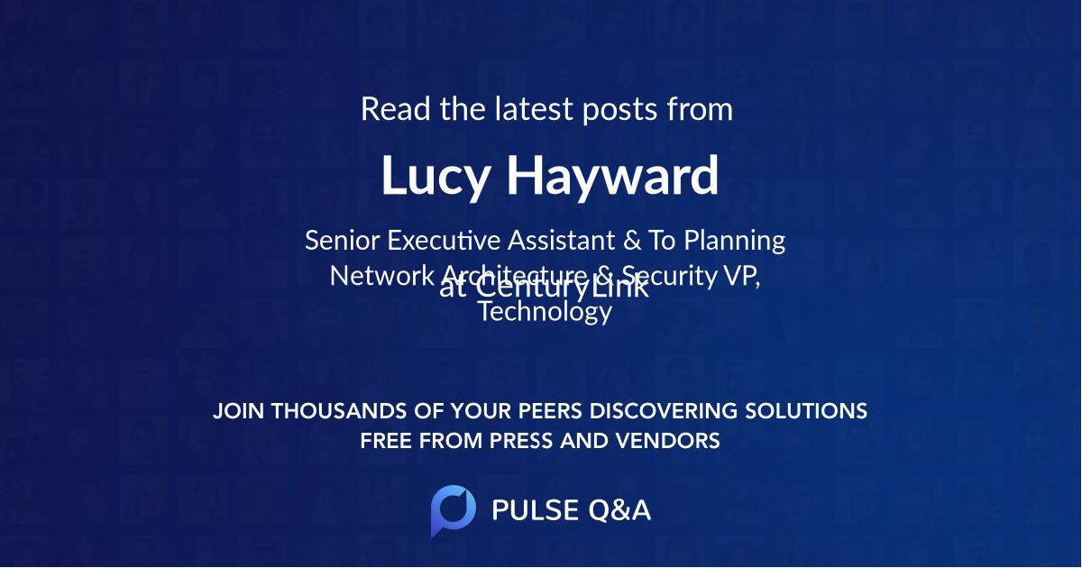 Lucy Hayward