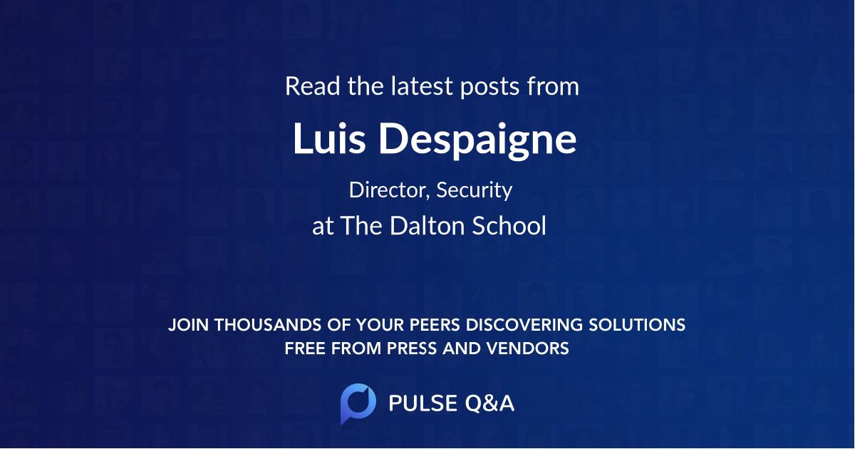Luis Despaigne