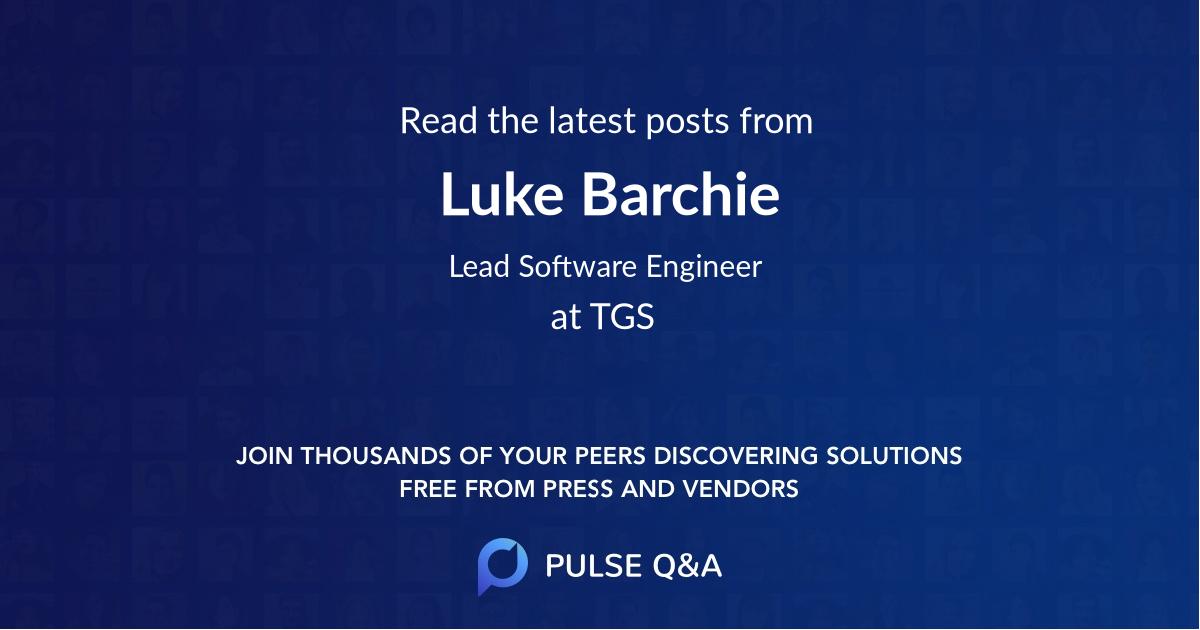 Luke Barchie