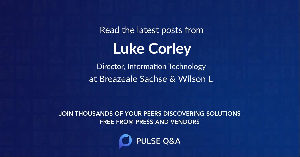 Luke Corley