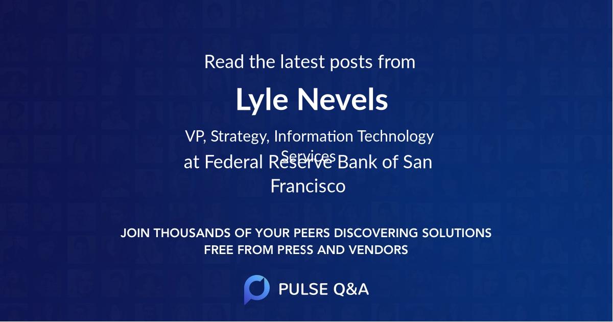Lyle Nevels