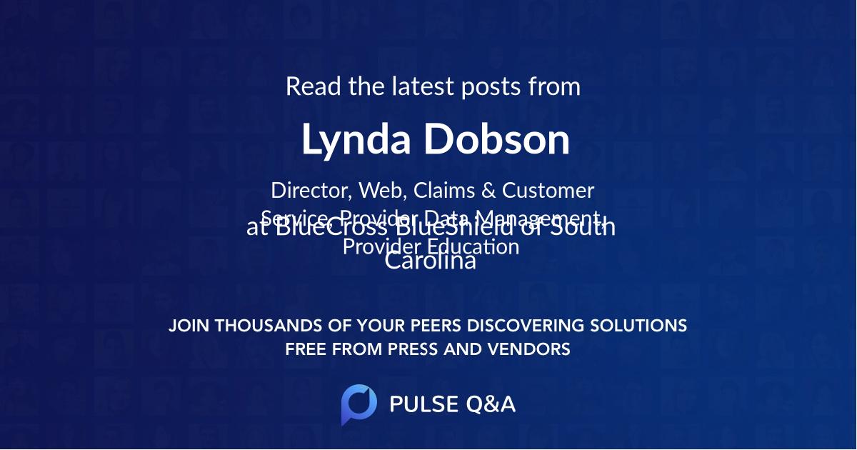 Lynda Dobson