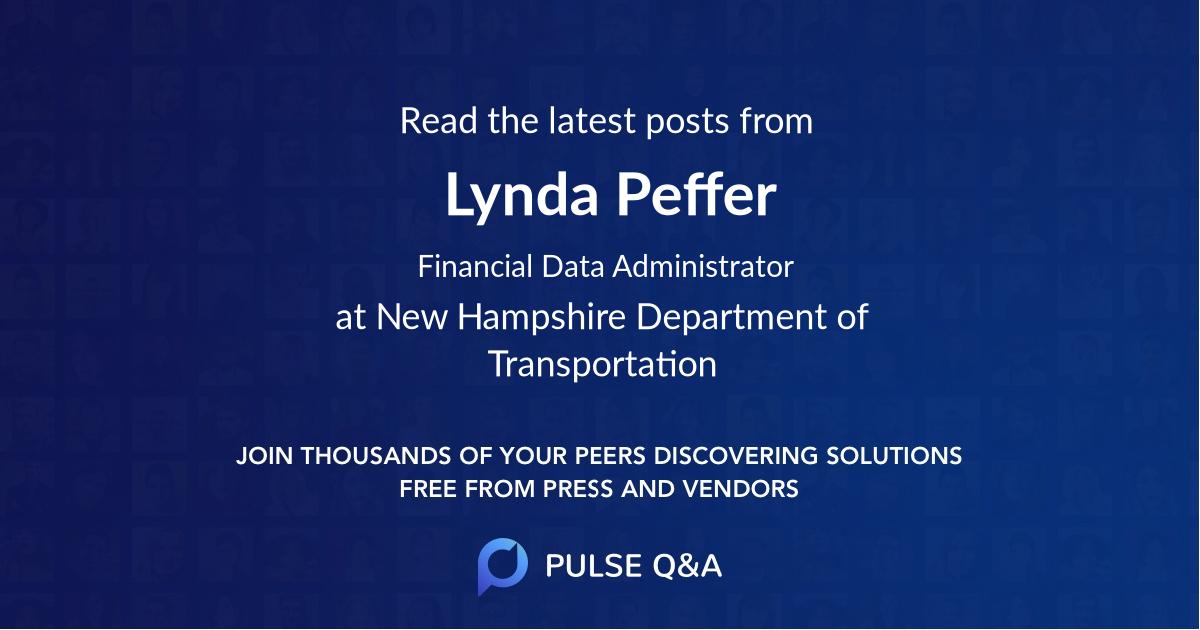 Lynda Peffer