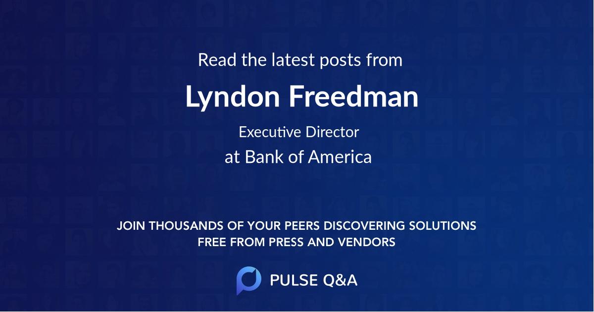 Lyndon Freedman