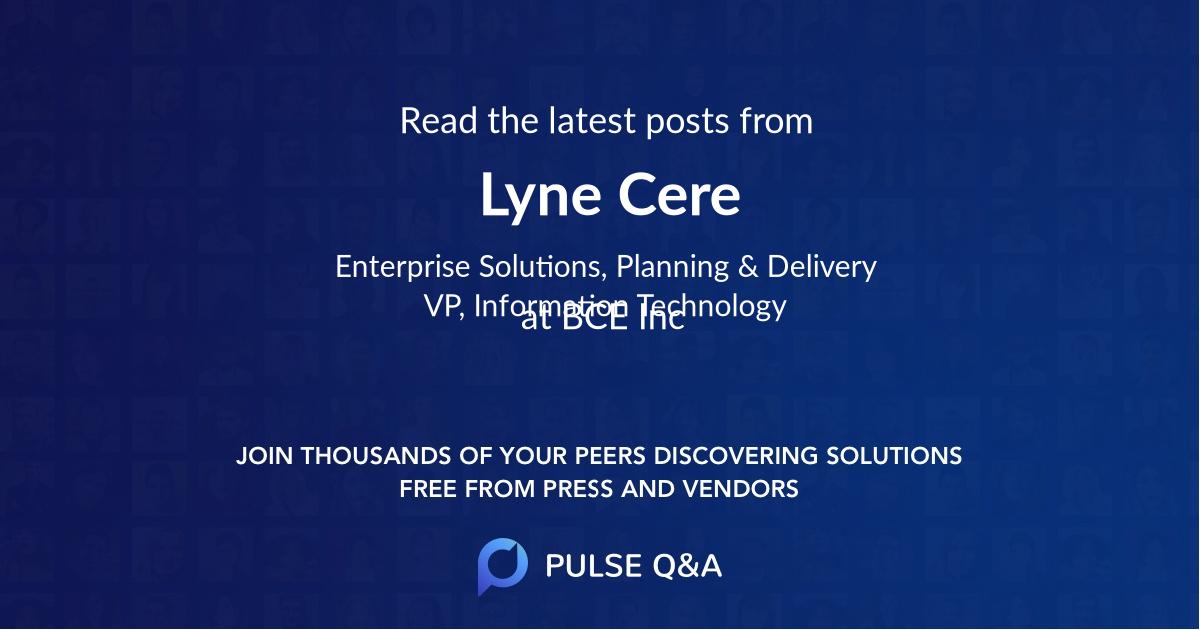 Lyne Cere