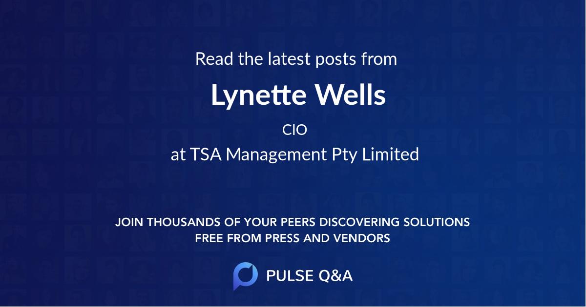 Lynette Wells