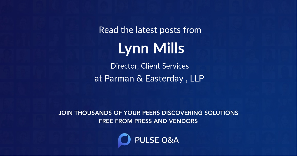 Lynn Mills