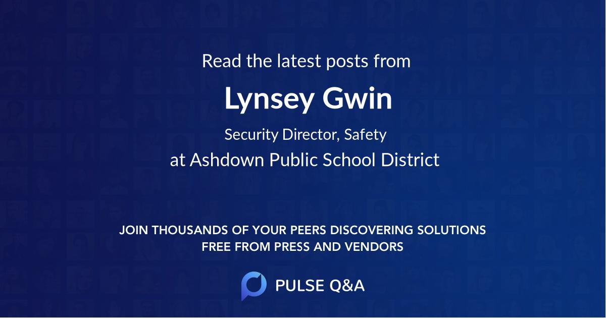 Lynsey Gwin