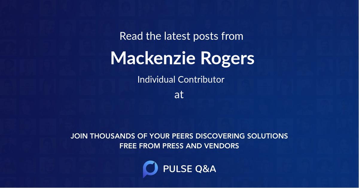 Mackenzie Rogers