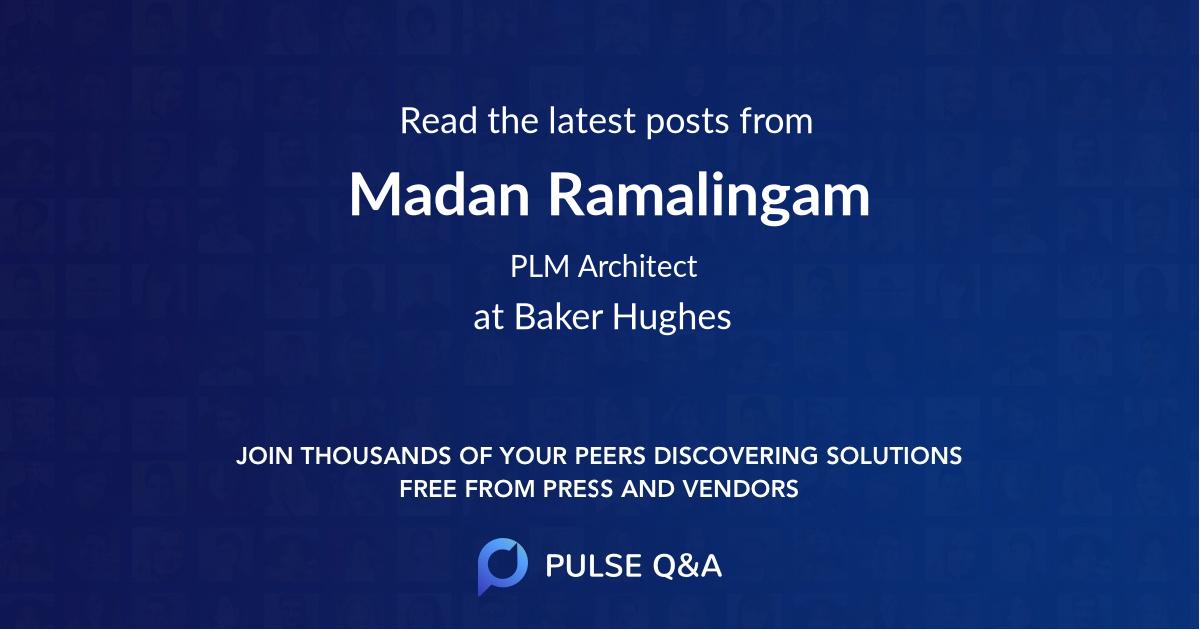 Madan Ramalingam