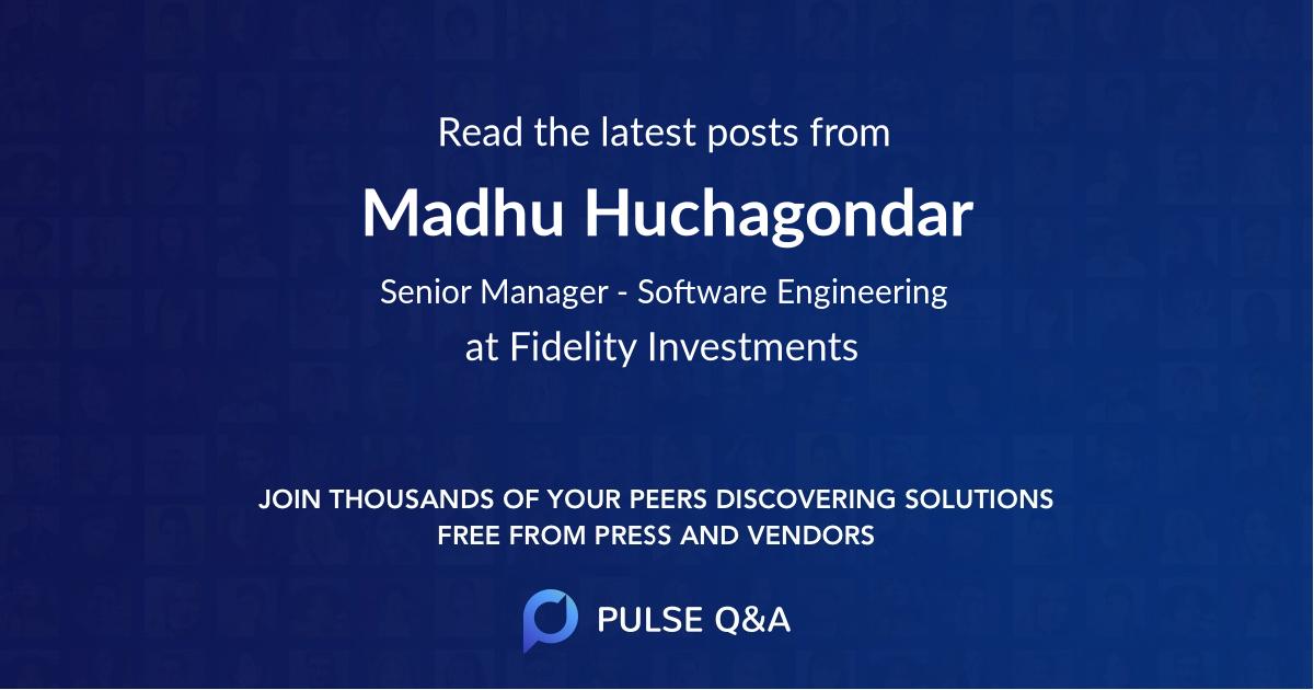 Madhu Huchagondar