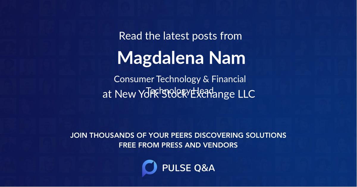 Magdalena Nam
