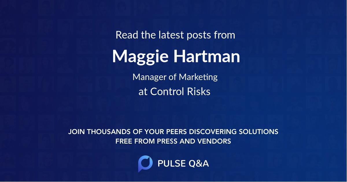 Maggie Hartman