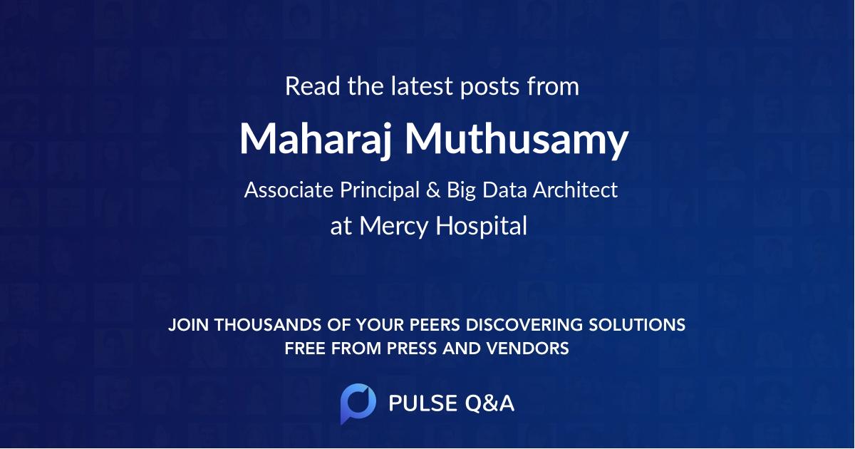 Maharaj Muthusamy