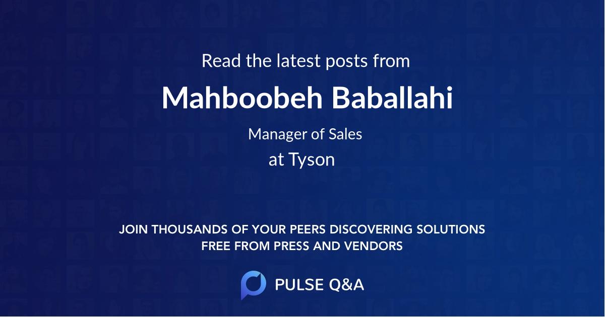 Mahboobeh Baballahi