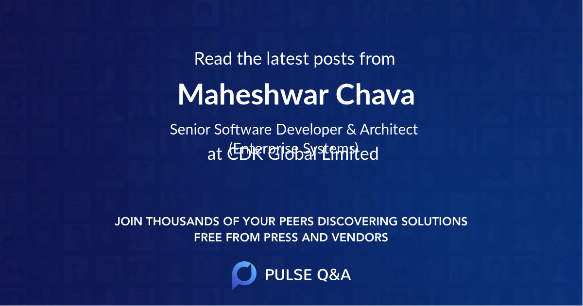 Maheshwar Chava