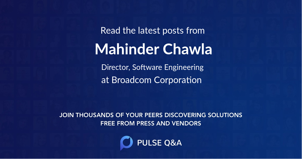 Mahinder Chawla