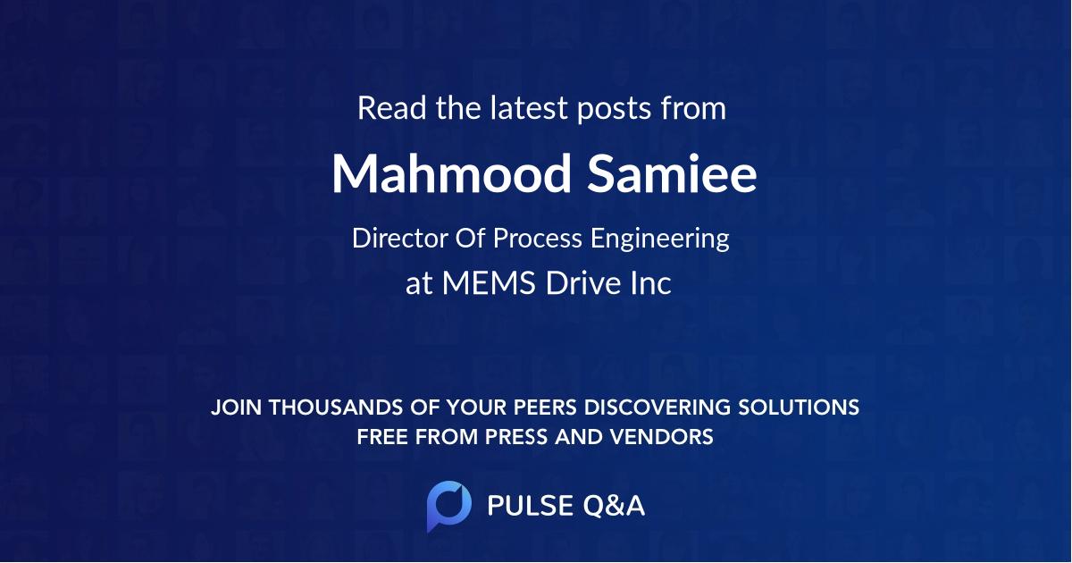 Mahmood Samiee