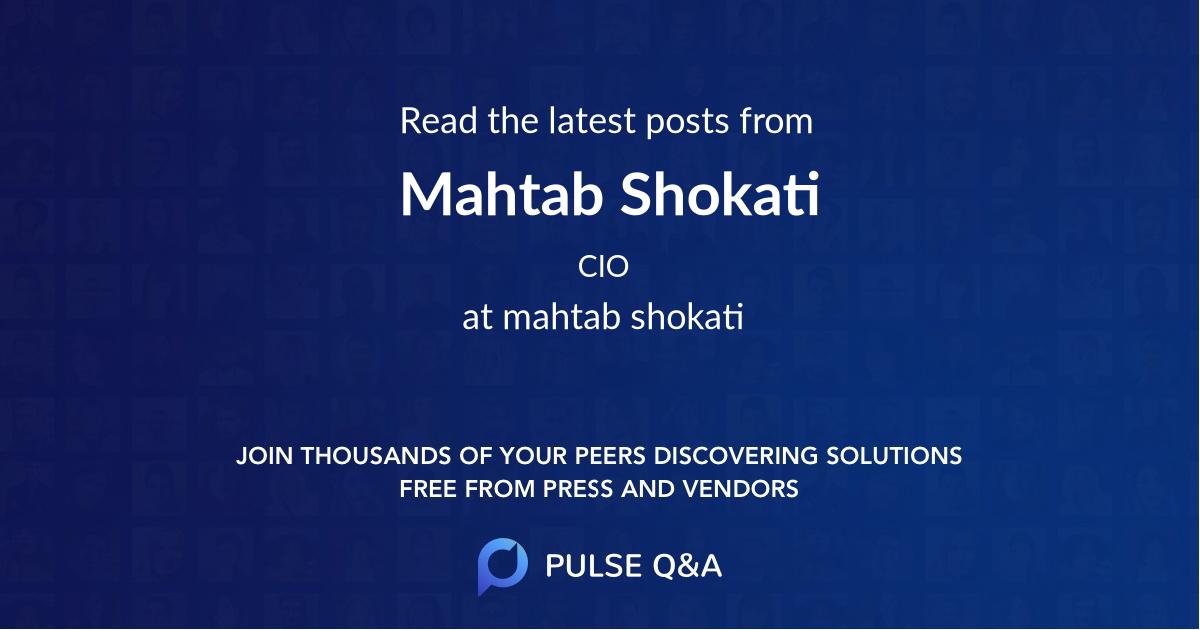 Mahtab Shokati