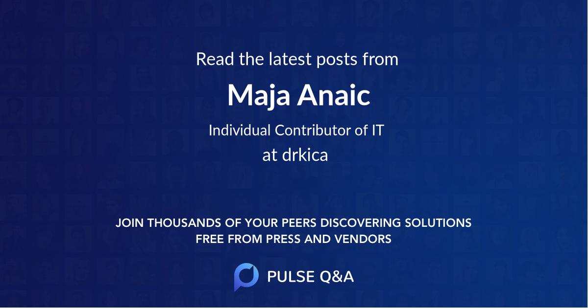 Maja Anaic
