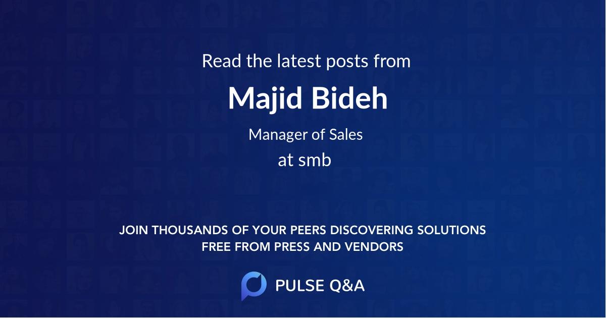 Majid Bideh