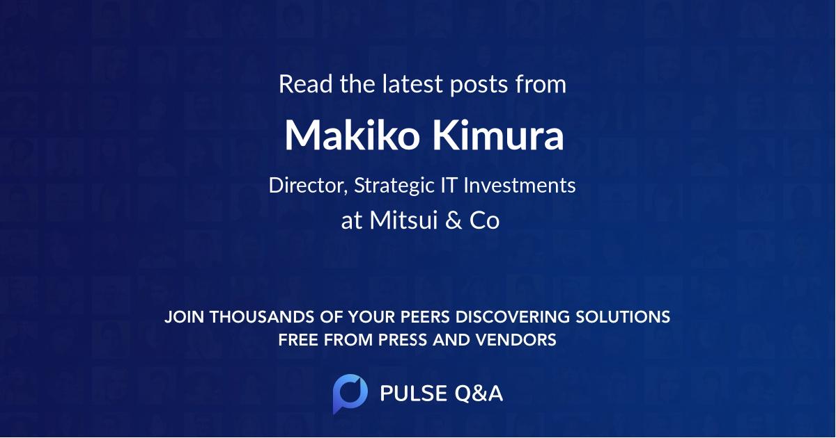 Makiko Kimura