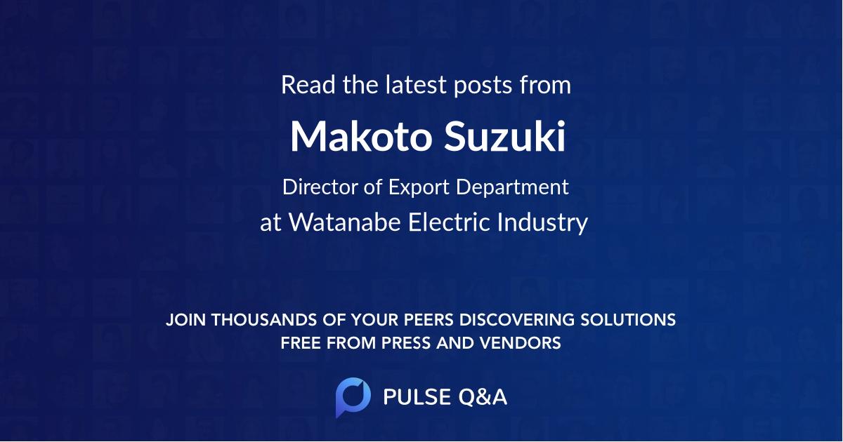 Makoto Suzuki
