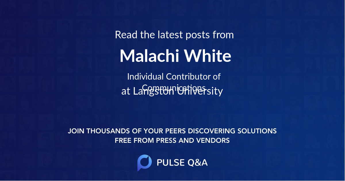 Malachi White