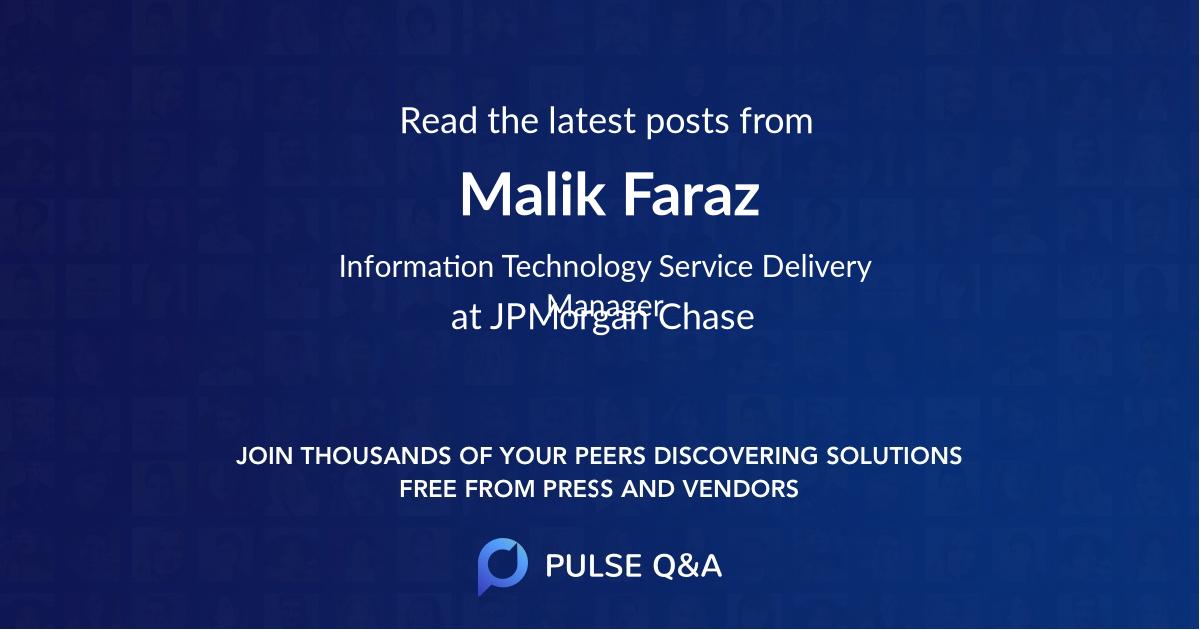 Malik Faraz