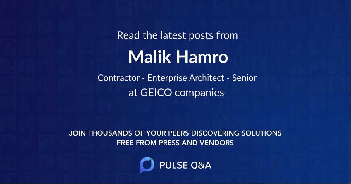 Malik Hamro