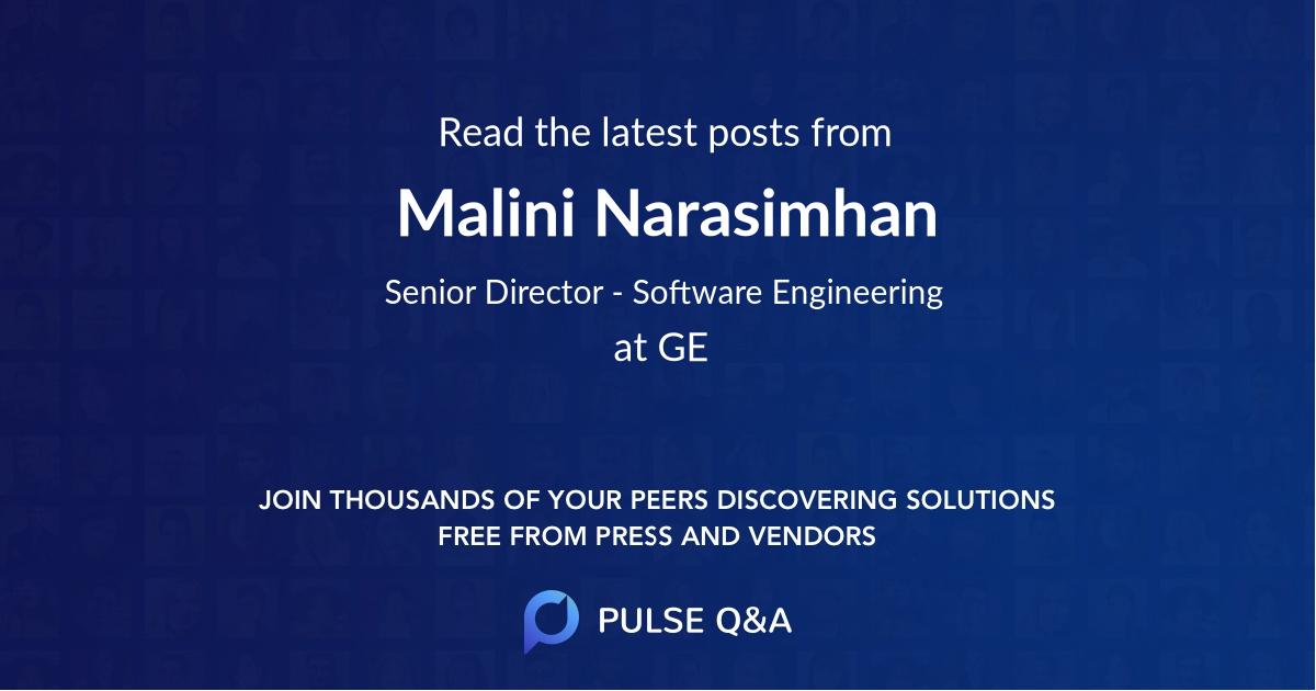 Malini Narasimhan