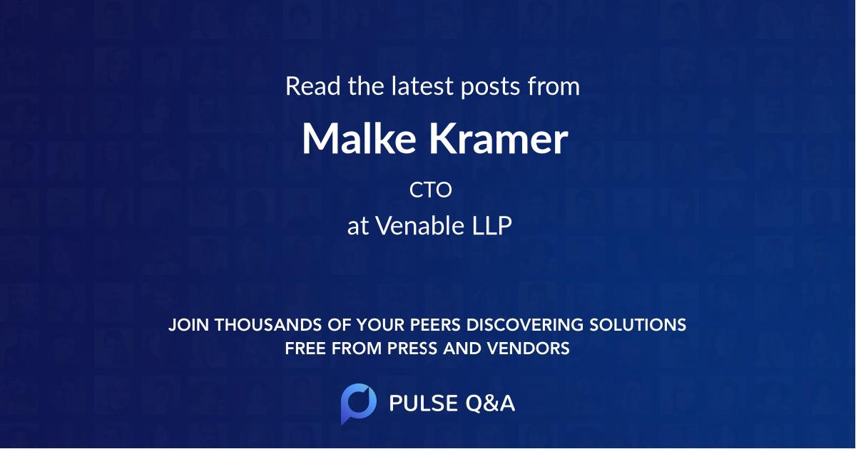 Malke Kramer