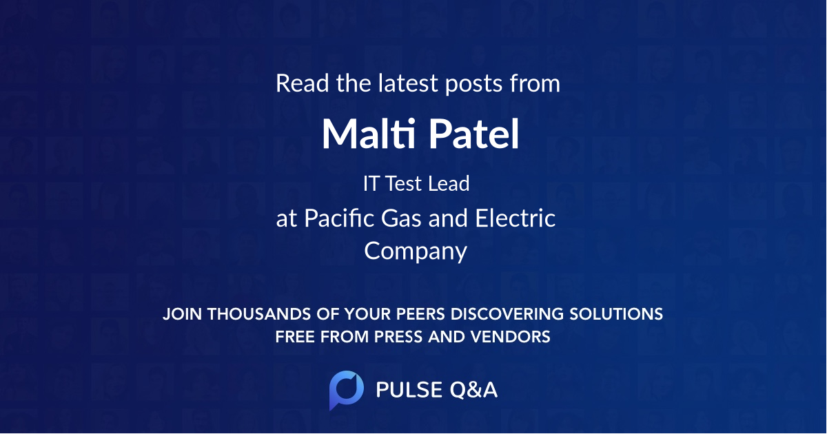 Malti Patel