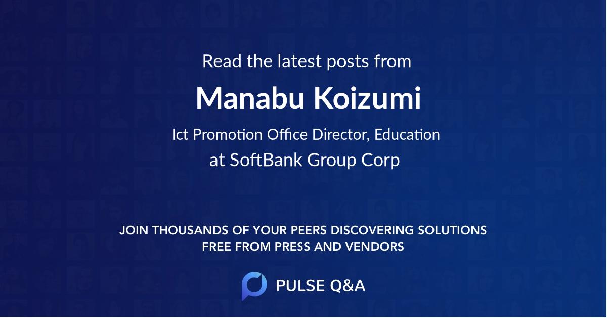 Manabu Koizumi