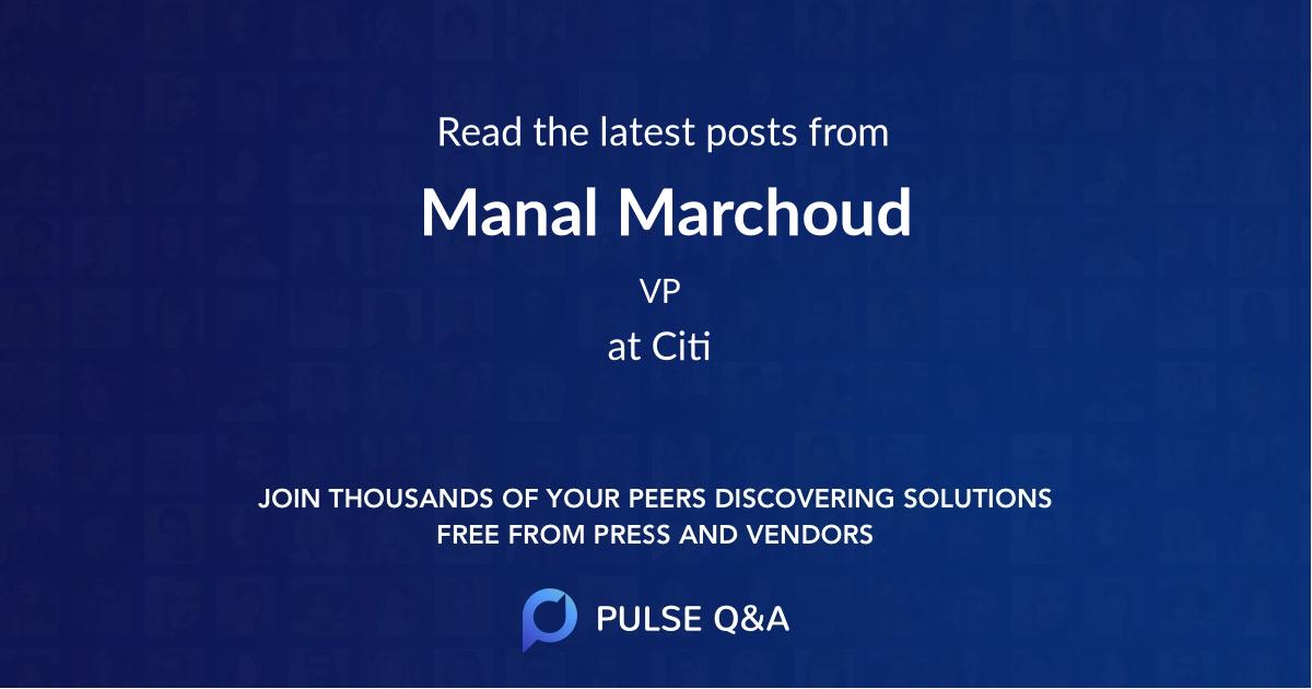 Manal Marchoud