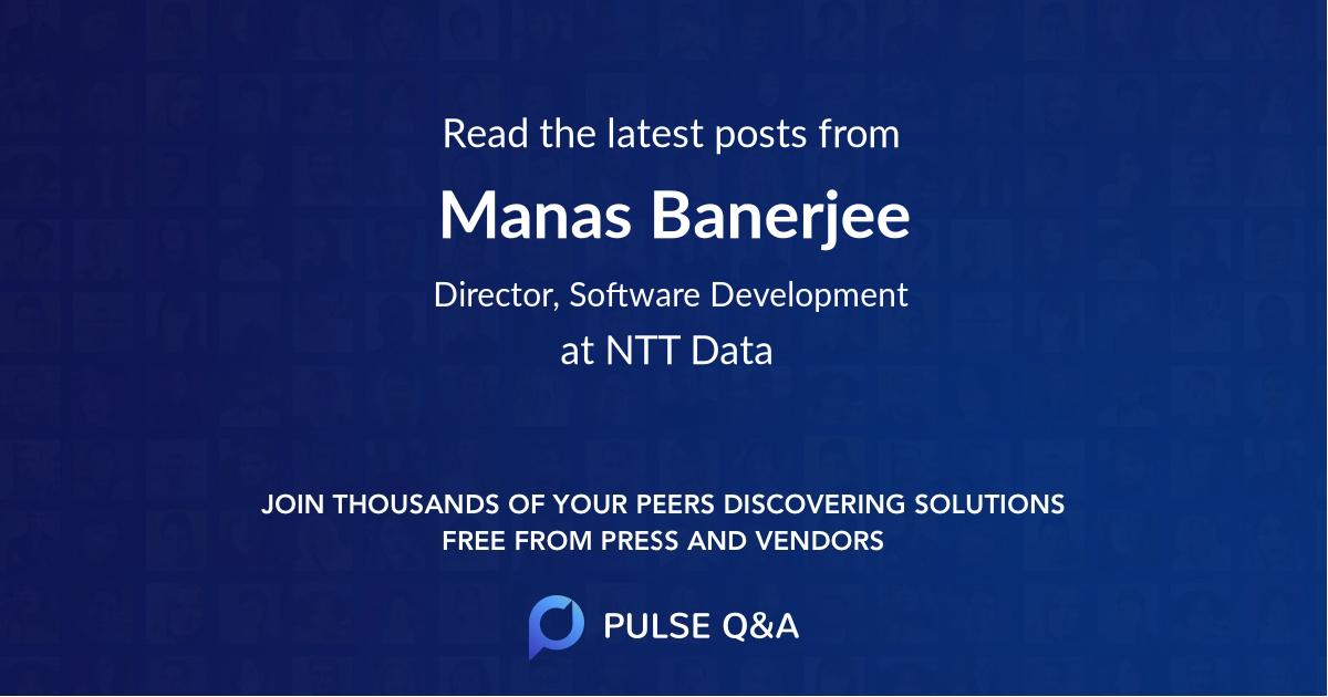 Manas Banerjee