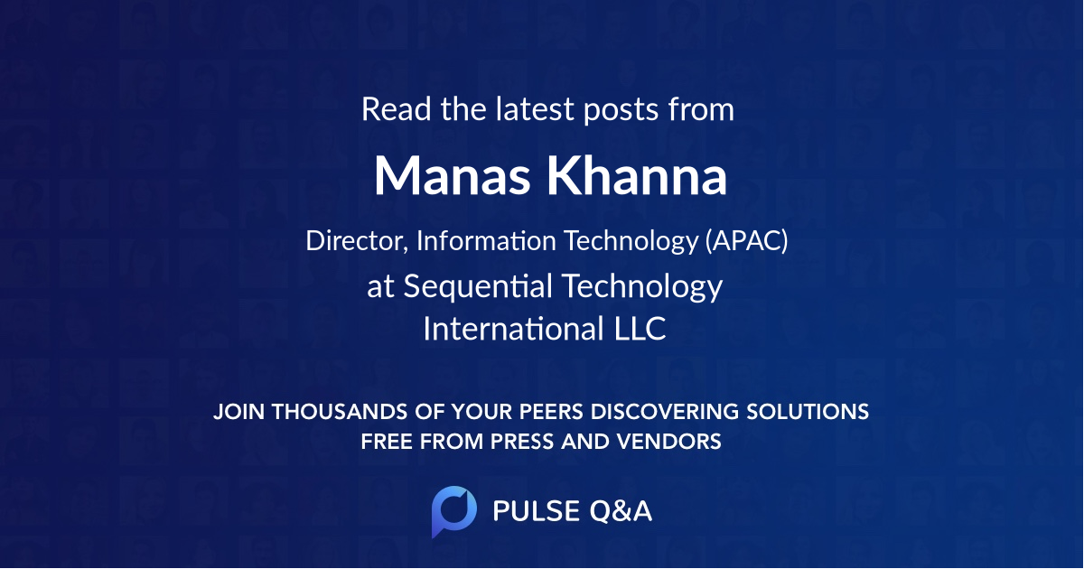 Manas Khanna